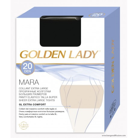 Collant velato XL 20 denari Mara Golden Lady